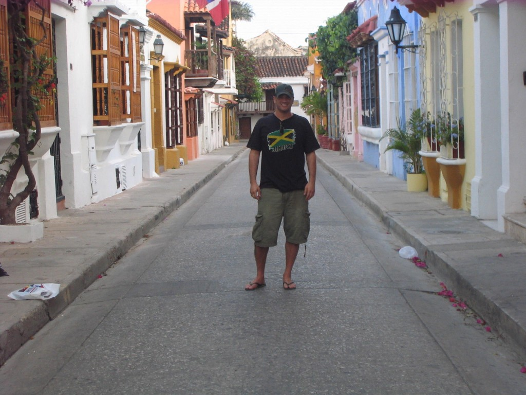 Lee Abbamonte, Cartagena, Colombia