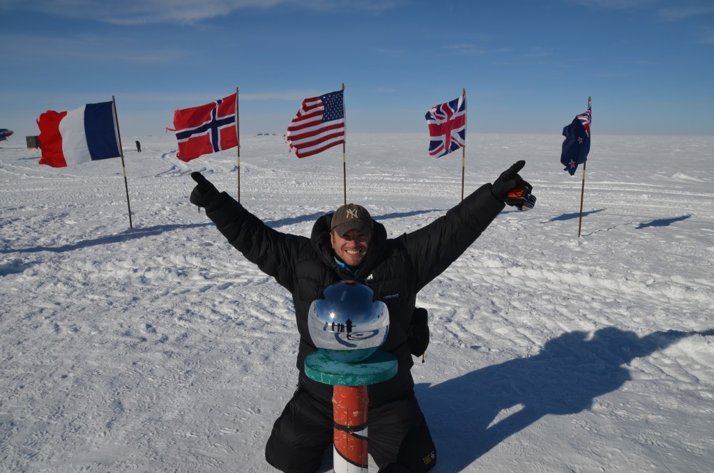 Lee Abbamonte, South Pole