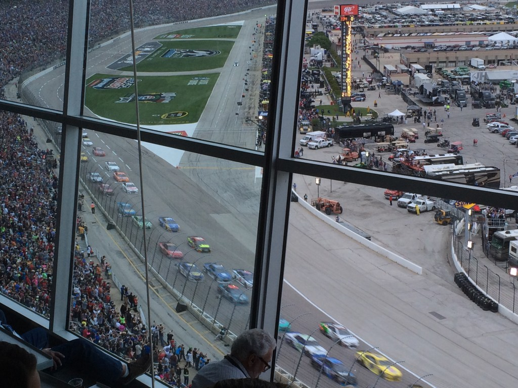 Texas Motor Speedway, Duck Commander 500, suite view