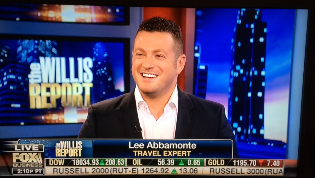 Lee Abbamonte, The Willis Report, Willis Report, travel