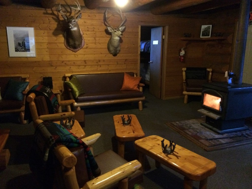 Inside Sundance Lodge, Banff National Park