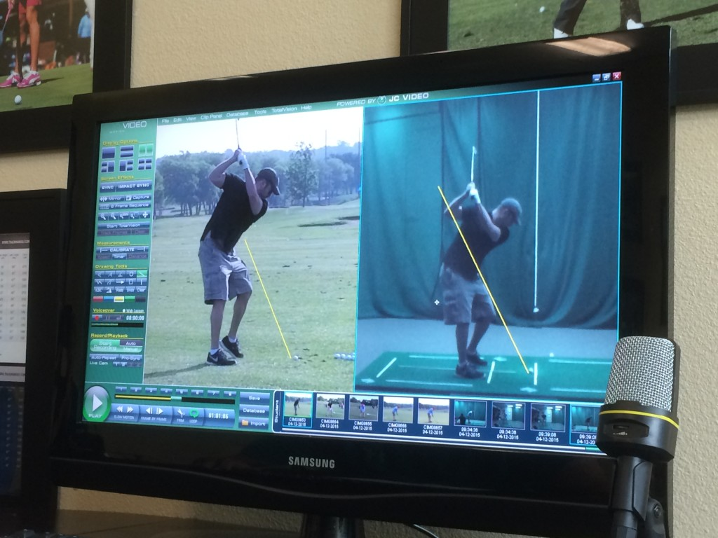Lee Abbamonte, golf, Jim McLean Golf Center, Fort Worth, Texas, swing analysis