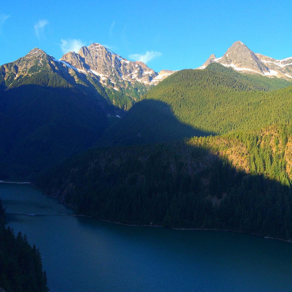 North Cascades National Park, Washington State, view
