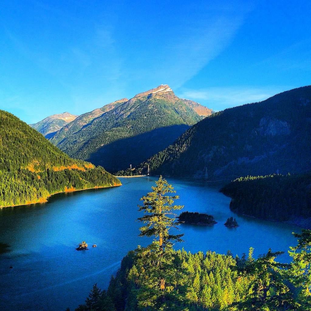 North Cascades National Park, Washington State, Diablo Lake Lookout