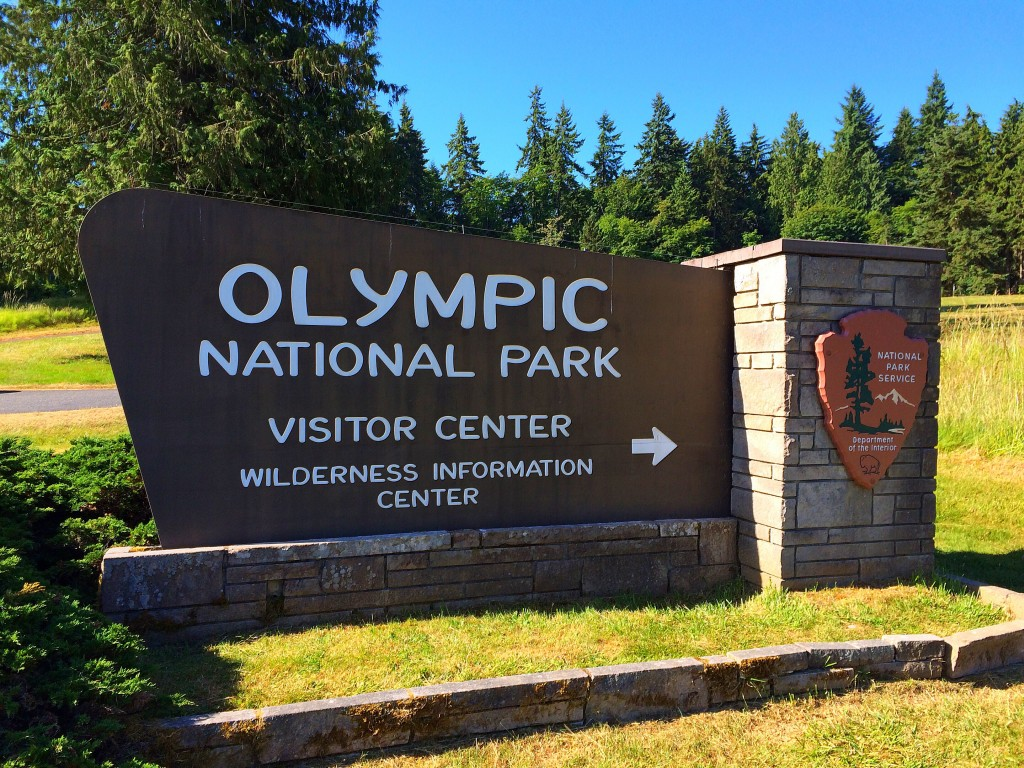Olympic National Park, entrance