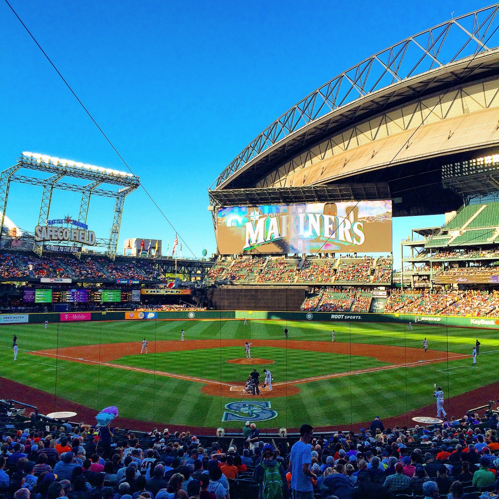 "Safeco Field, <img src=""https://www.leeabbamonte.com/wp-content/uploads/2015/06/IMG_5051-768x1024.jpg"" alt=""Crab Pot, Seattle, Washington State"