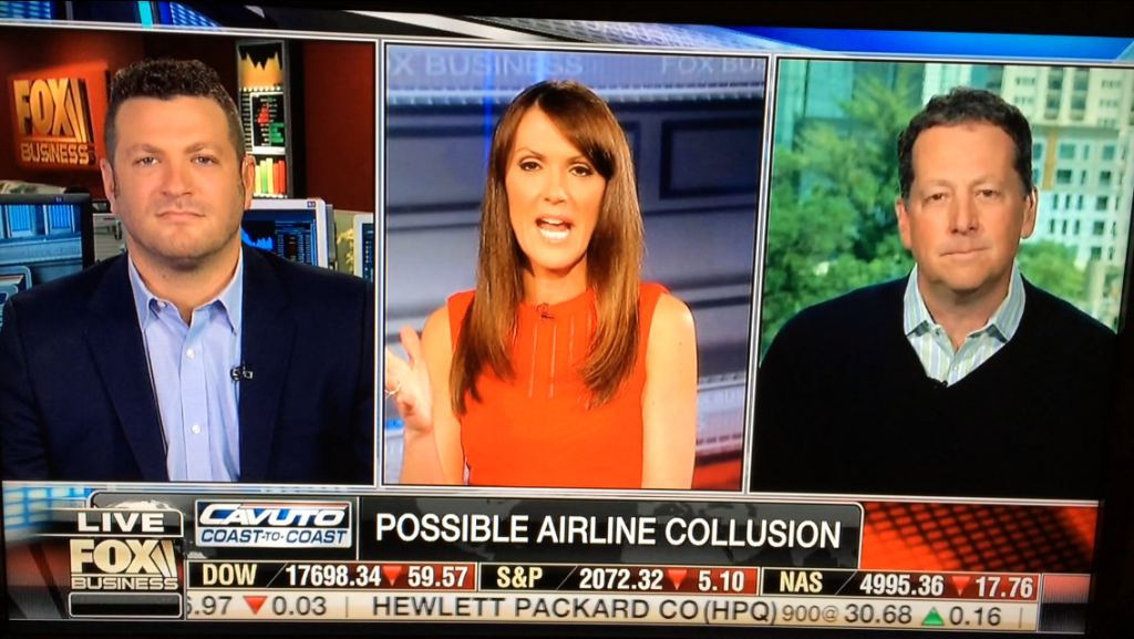 Lee Abbamonte, FOX Business, airline collusion