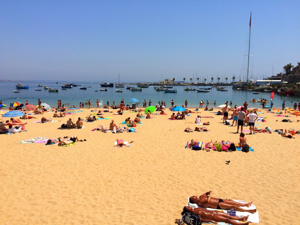 Cascais, beach, Portugal