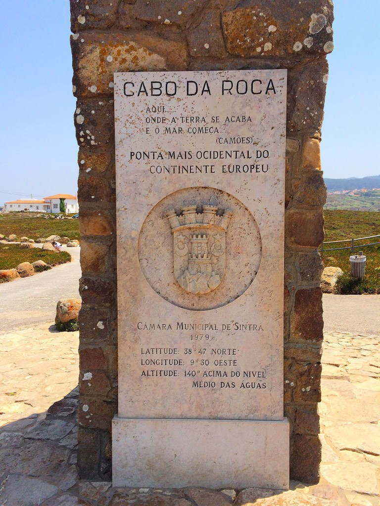 Cabo Da Roca, Portugal, sign