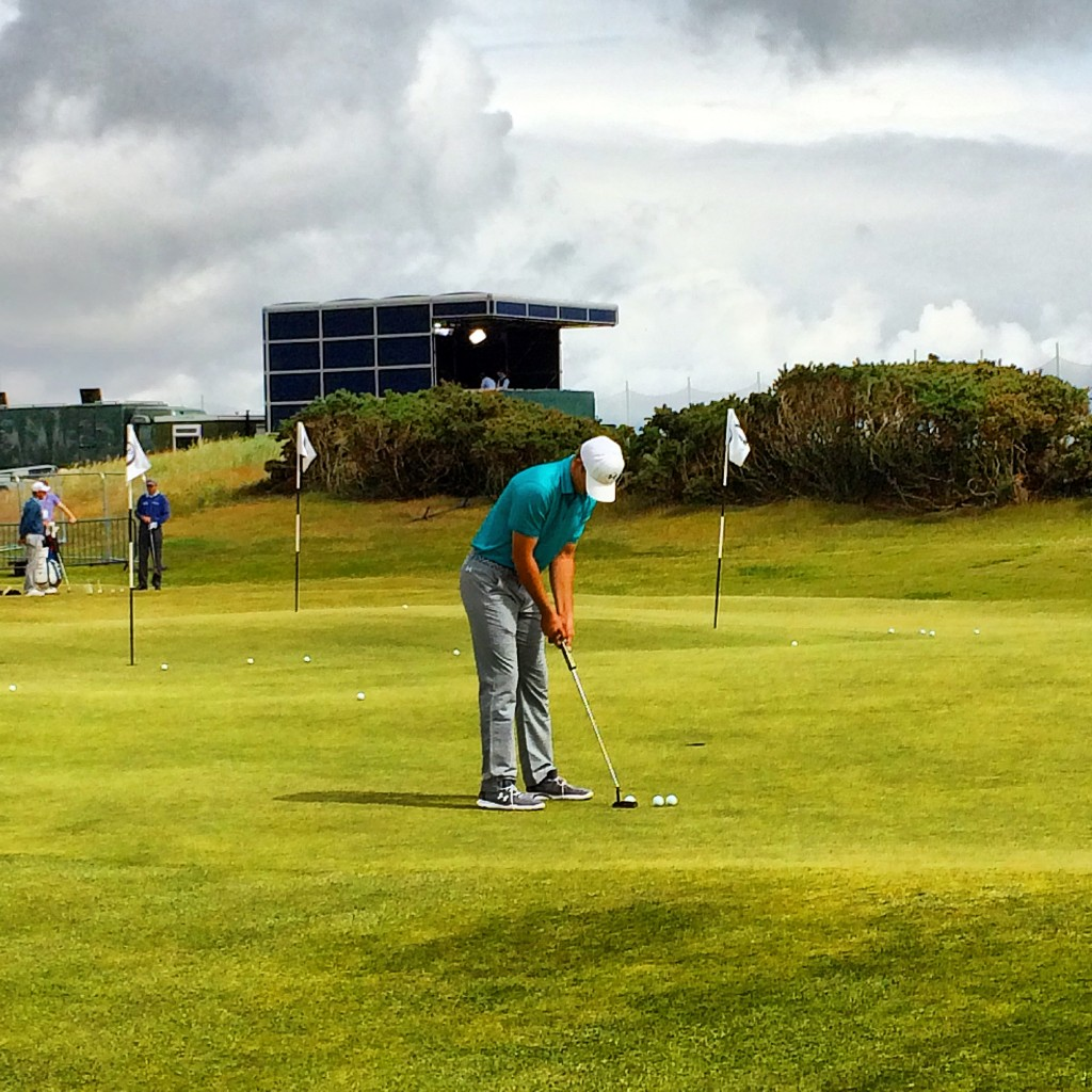 Old Course, 2015 Open Championship, St Andrews, Scotland, Jordan Spieth