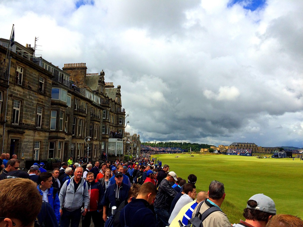 Old Course, 2015 Open Championship, St Andrews, Scotland