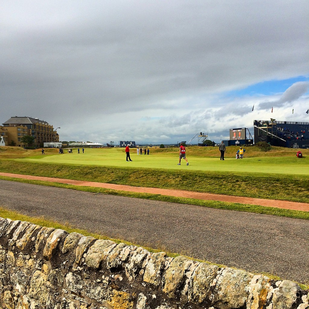 The Road Hole, Road Hole, Old Course, 2015 Open Championship, St Andrews, Scotland
