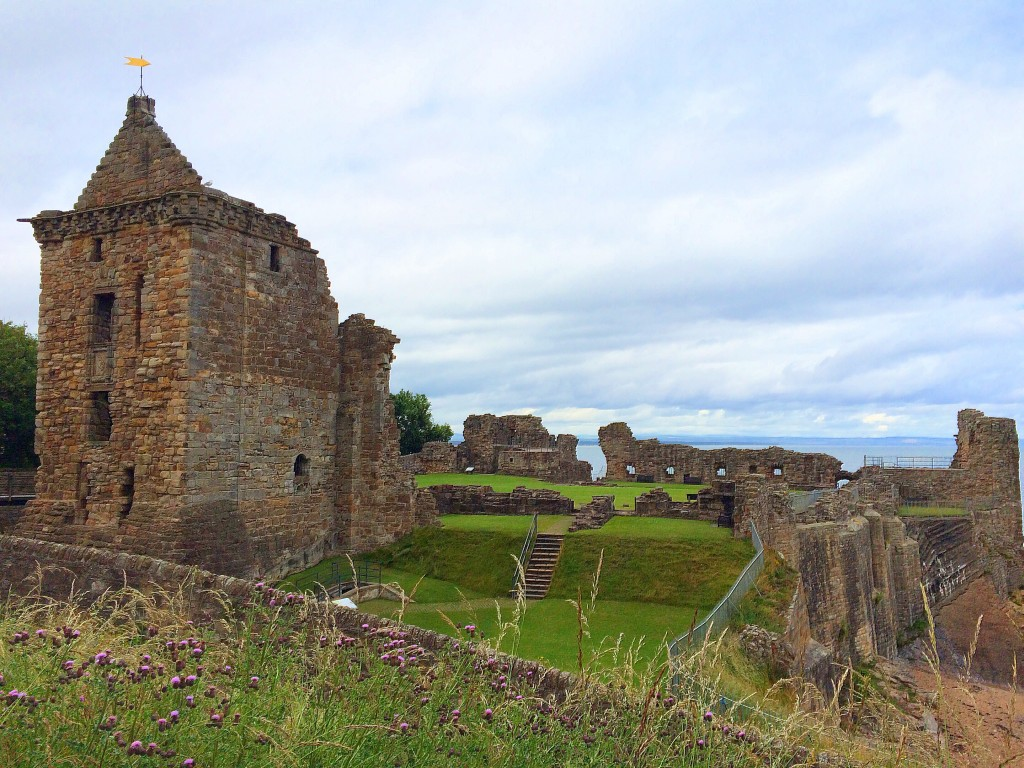 St. Andrews, Scotland, ruins