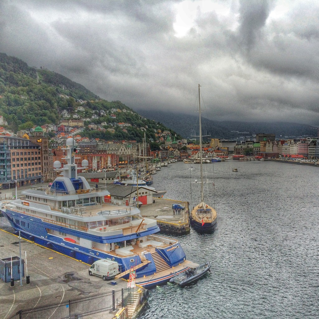 Bergen, Norway, harbor