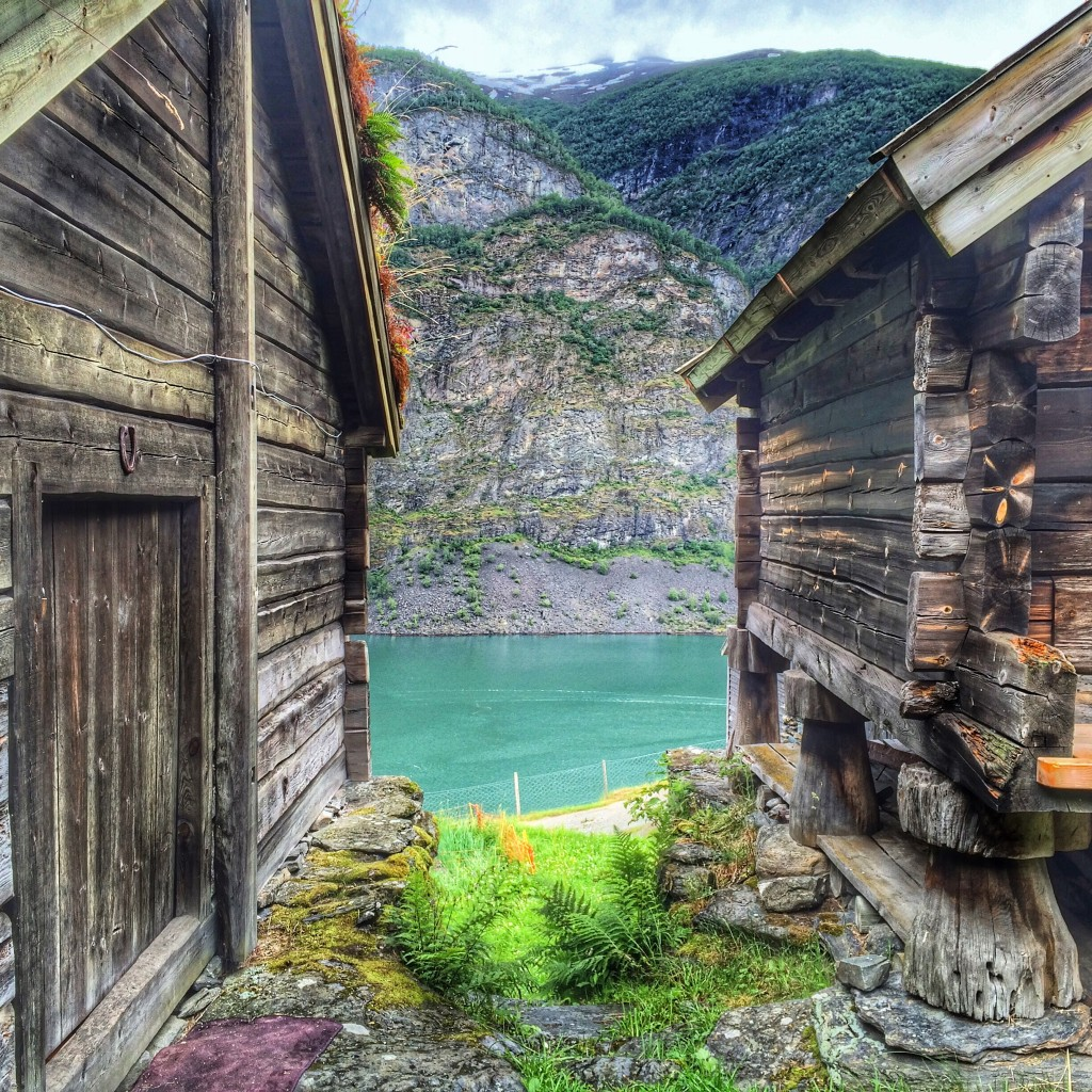 Otternes, Flam, Norway, view