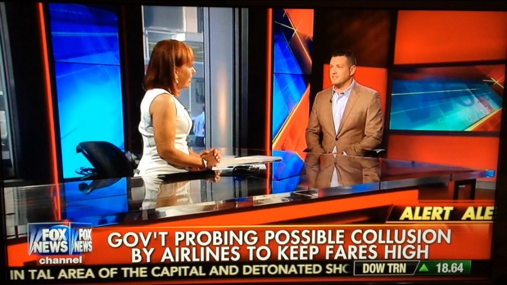 Lee Abbamonte, FOX News, Cavuto, airlines