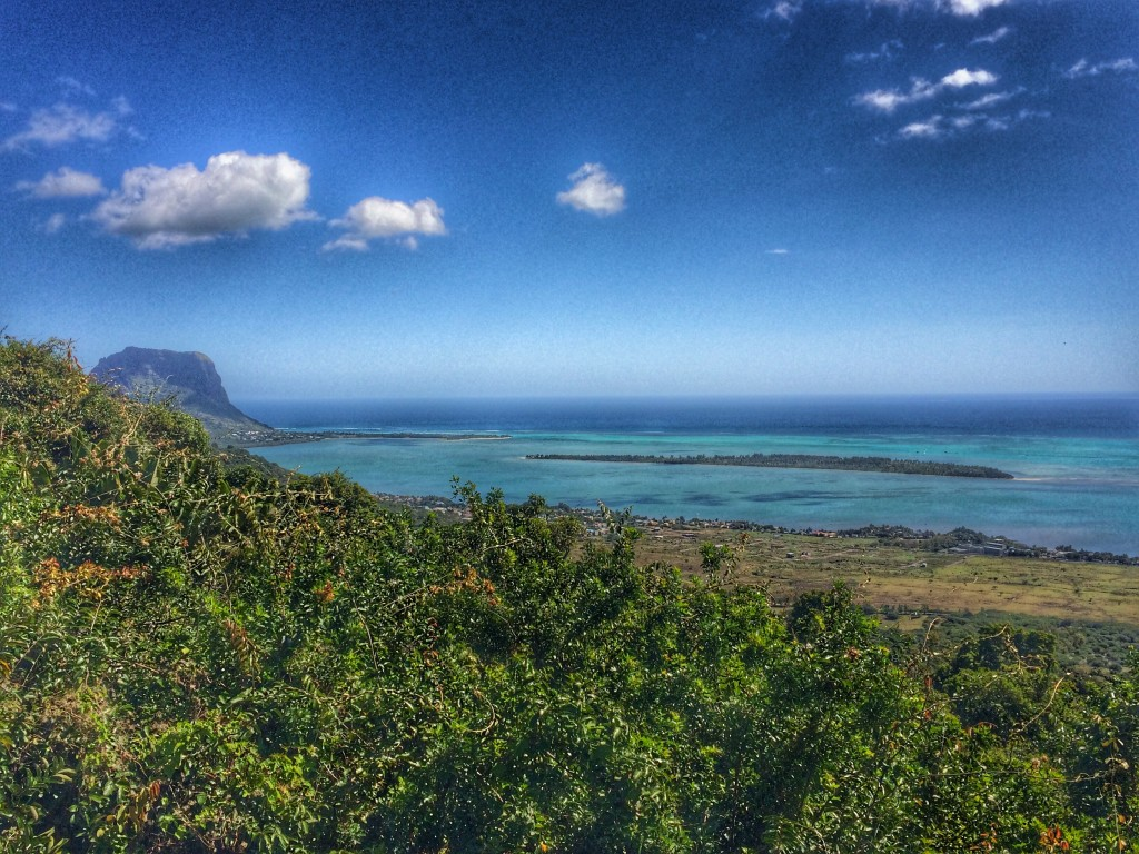 Mauritius, lookout, view