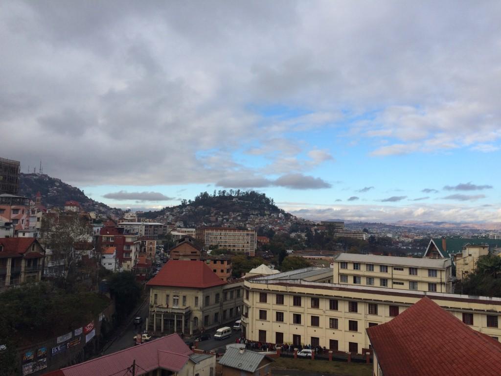 Antananarivo, Madagascar, Tana, Africa, Hotel Colbert view
