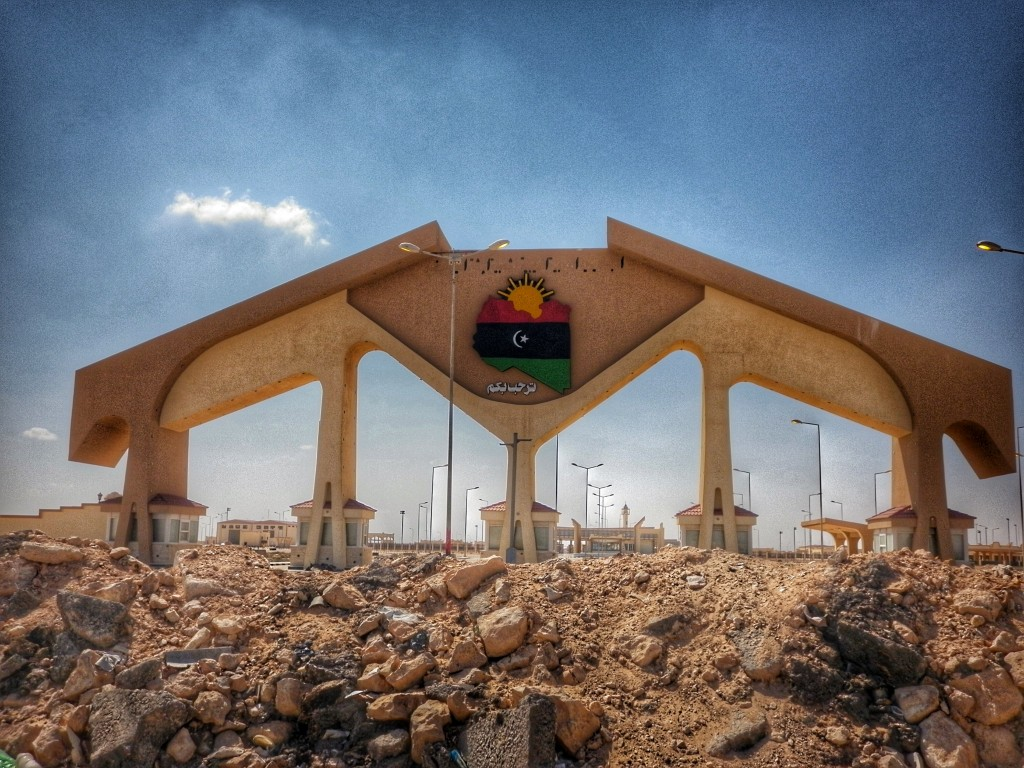 Journeymakers, Eastern Libya Border, Libya, border