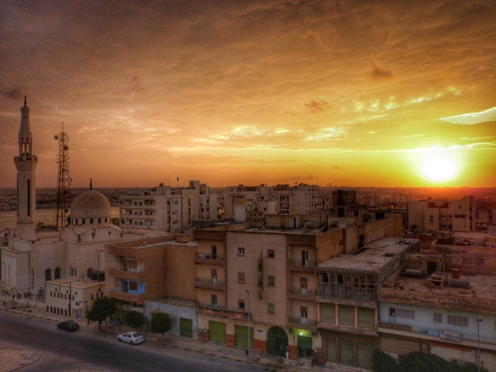 Tobruk, Libya, sunset, Journeymakers