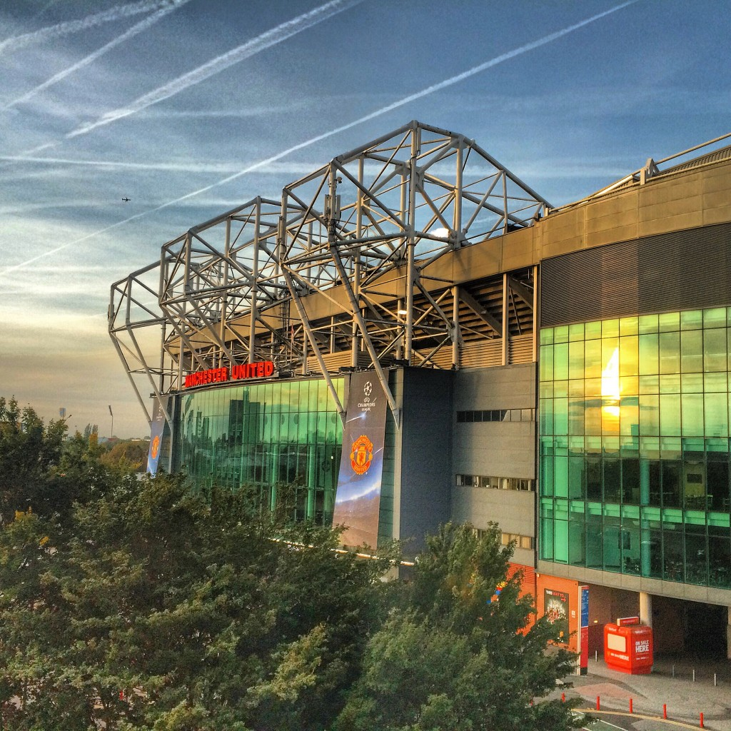 Hotel Football, Old Trafford view, Manchester, England