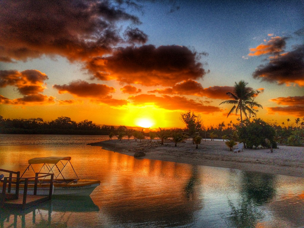 Sunset, Aquana Beach resort, Vanuatu, Port Vila