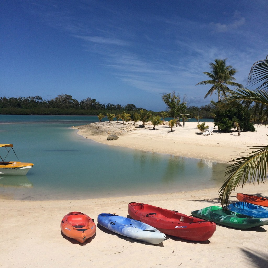 Aquana Beach Resort view, Vanuatu