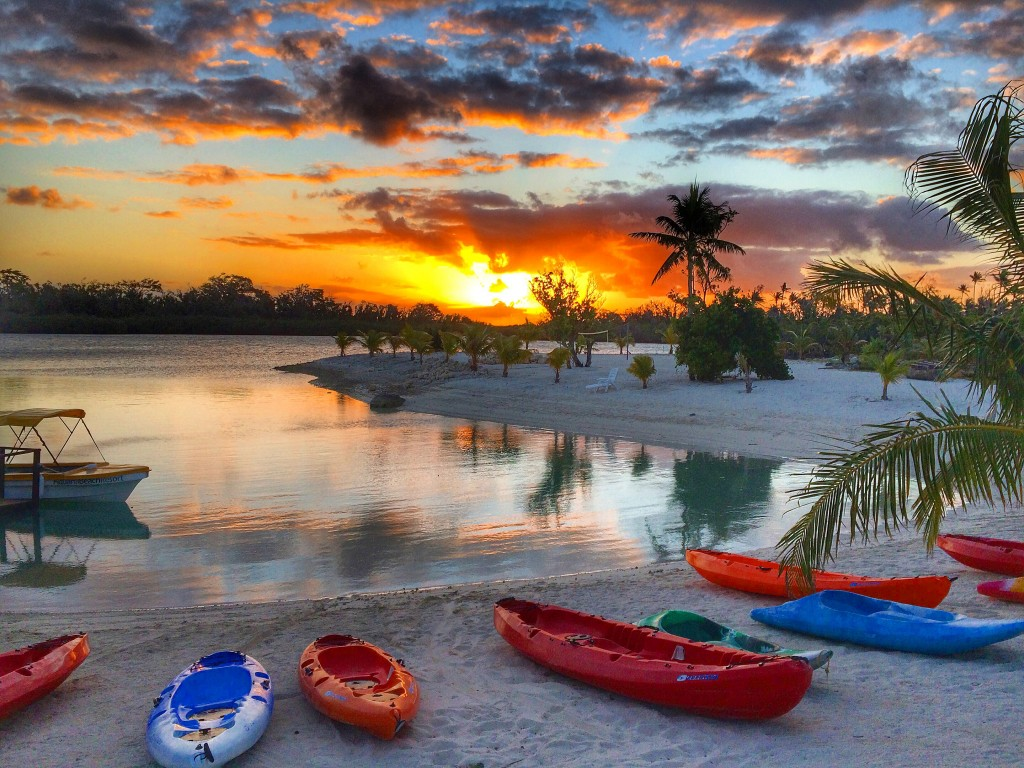 Aquana Beach Resort, Vanuatu, Port Vila, sunset