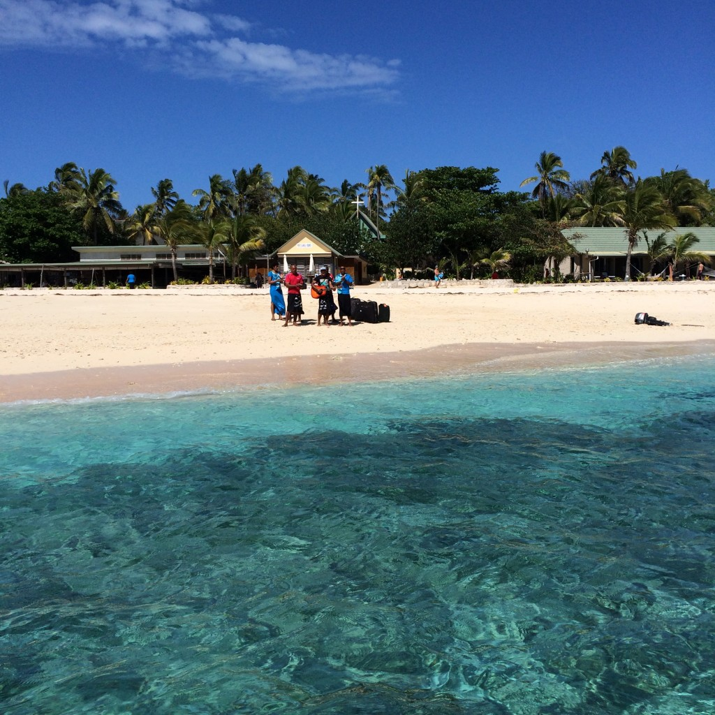 Beachcomber Island, Fiji, bula, welcome