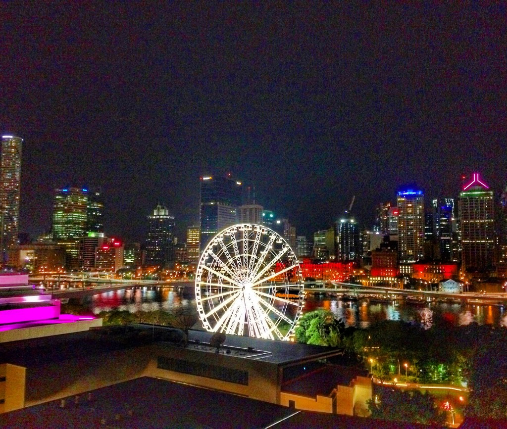 Brisbane, Queensland, Australia, A Perfect Day in Brisbane, Brisvegas, skyline, night