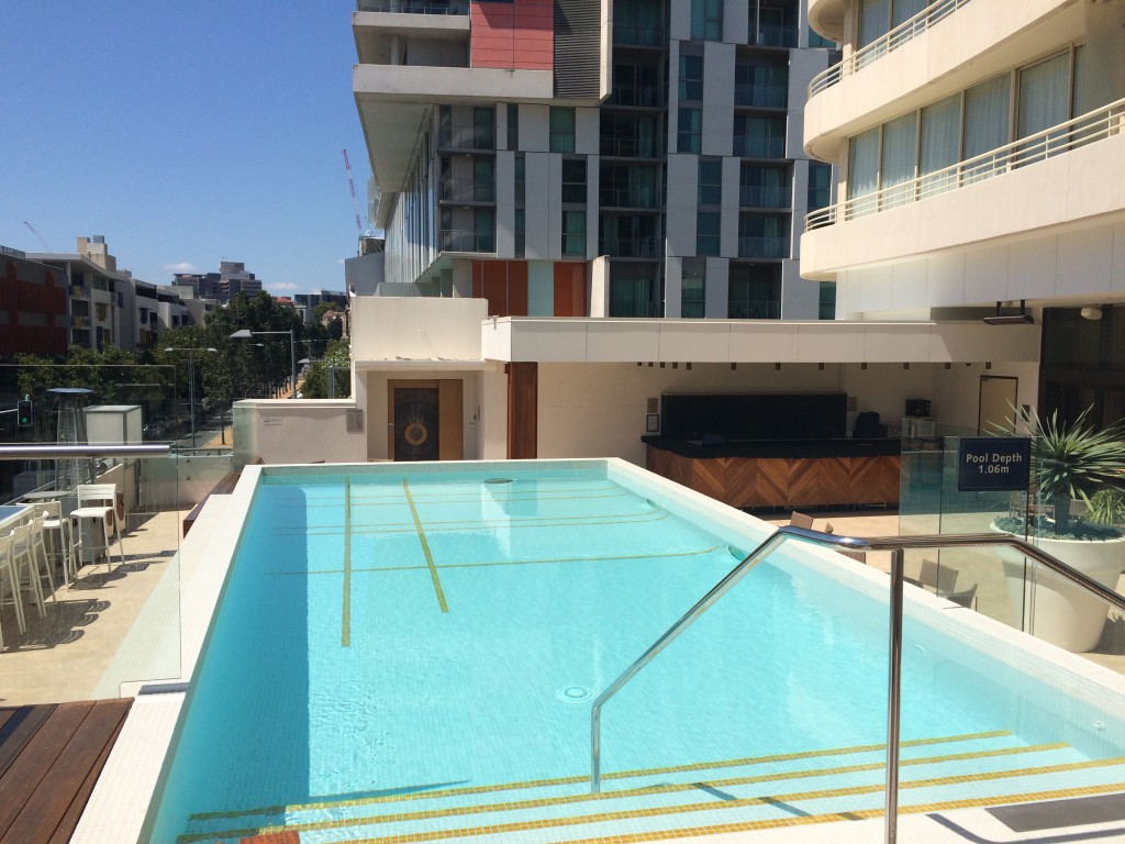 Brisbane, Queensland, Australia, A Perfect Day in Brisbane, Brisvegas, Rydges Southbank, pool