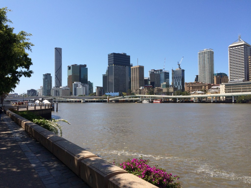 Brisbane, Queensland, Australia, A Perfect Day in Brisbane, Brisvegas, skyline, day