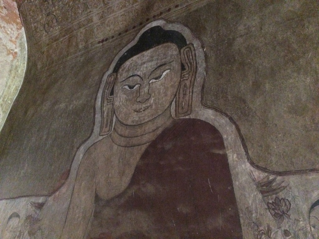Bagan, paintings, buddha, Burma, Myanmar