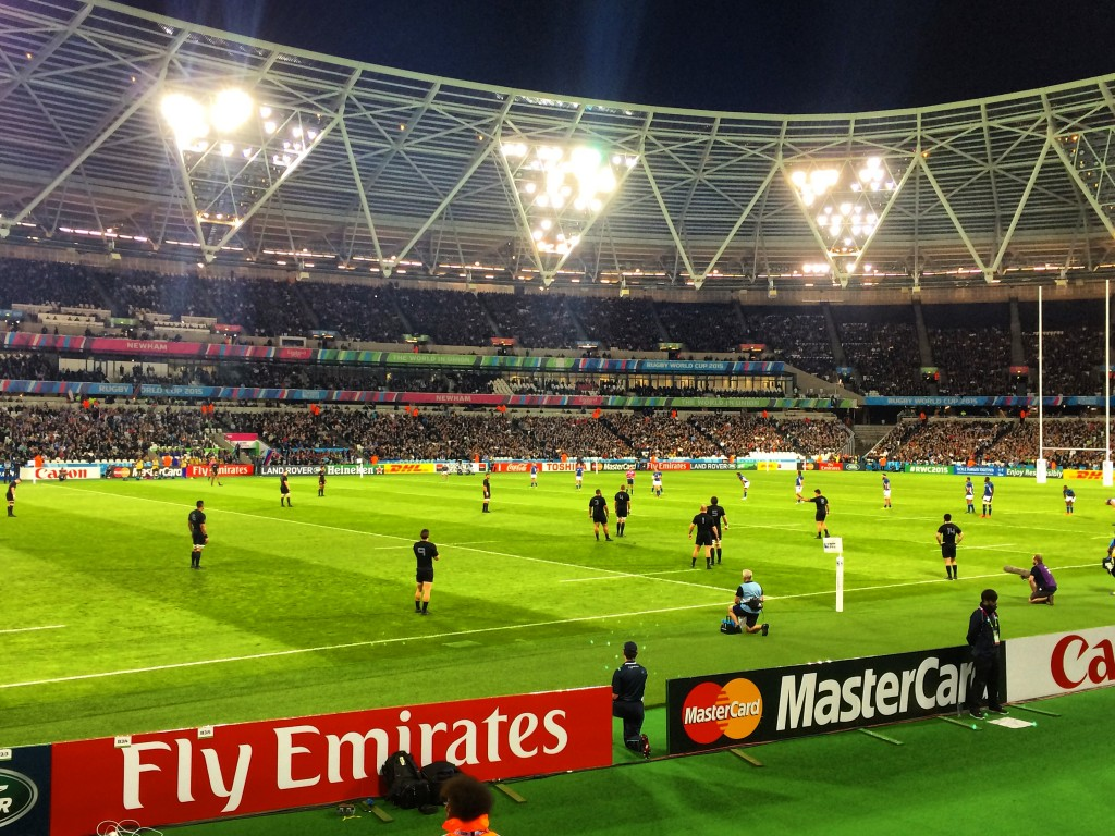 London, England, Rugby World Cup, Olympic Stadium, Namibia, New Zealand, All Blacks