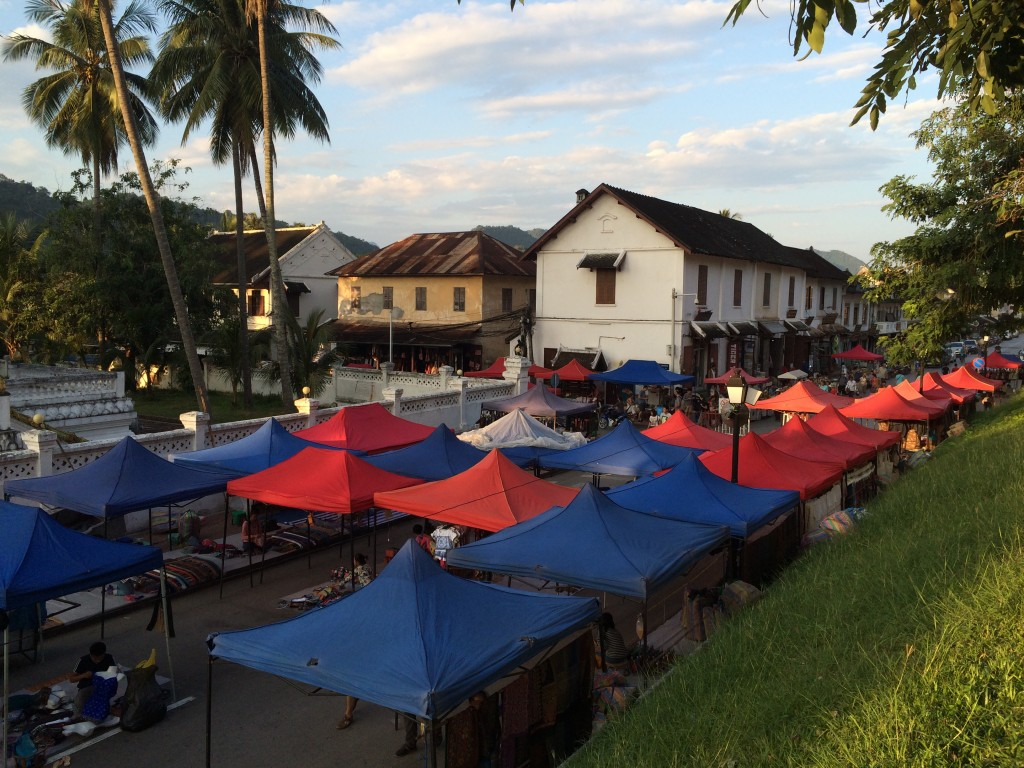Luang Prabang, night market