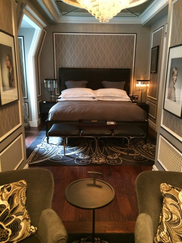 Gatsby Suite bed, The Plaza Hotel, NYC