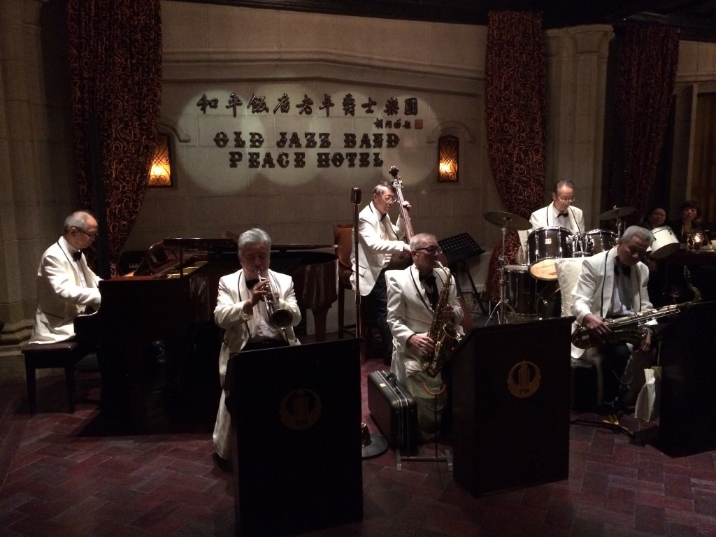 Old Jazz Band, Jazz Bar, Fairmont Peace Hotel, Peace Hotel, Fairmont, Shanghai, China