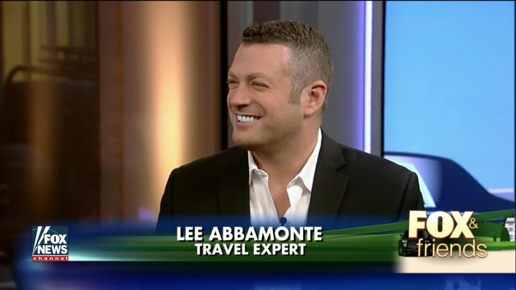 Lee Abbamonte, Fox and Friends, Fox News, Travel Etiquette