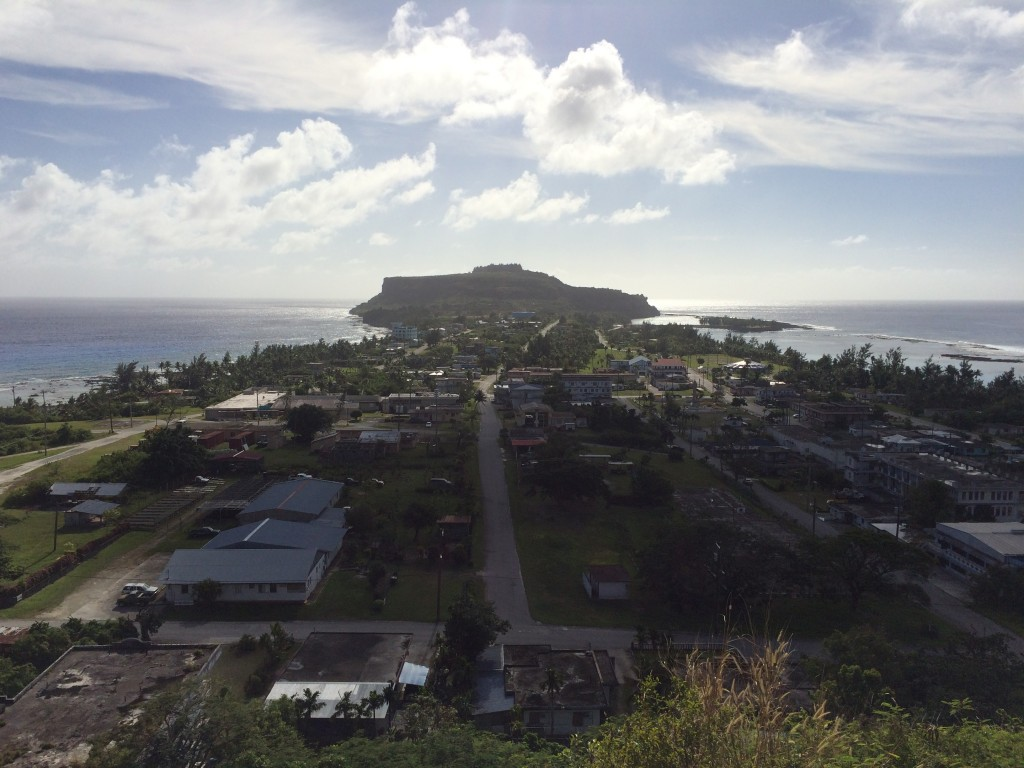 Rota, CNMI, wedding cake mountain, Northern Mariana Islands, Song Song, lookout