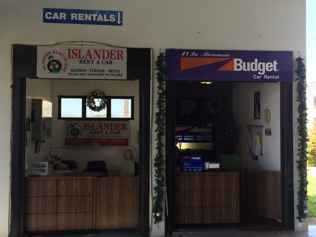 Rota, CNMI, Northern Mariana Islands, rental cars, Islander rental car