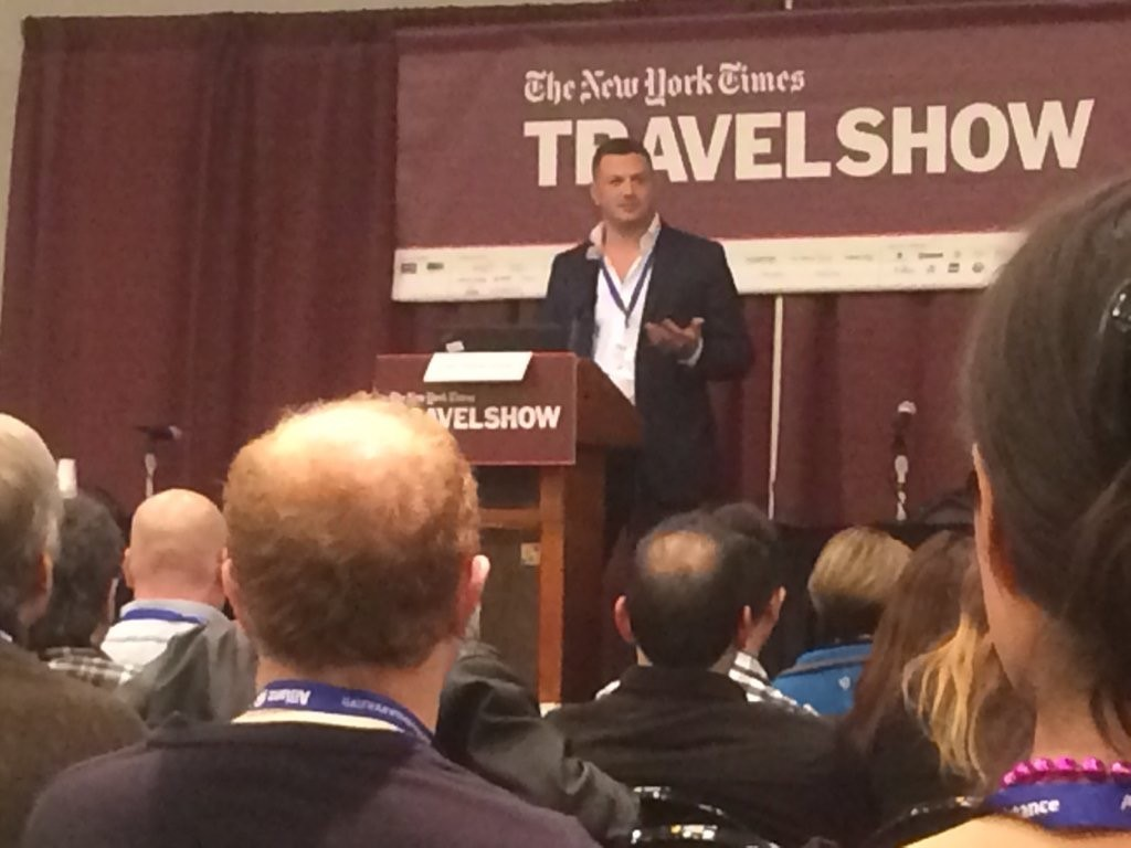 Lee Abbamonte, New York Times Travel Show, My New York Times Travel Show Experience