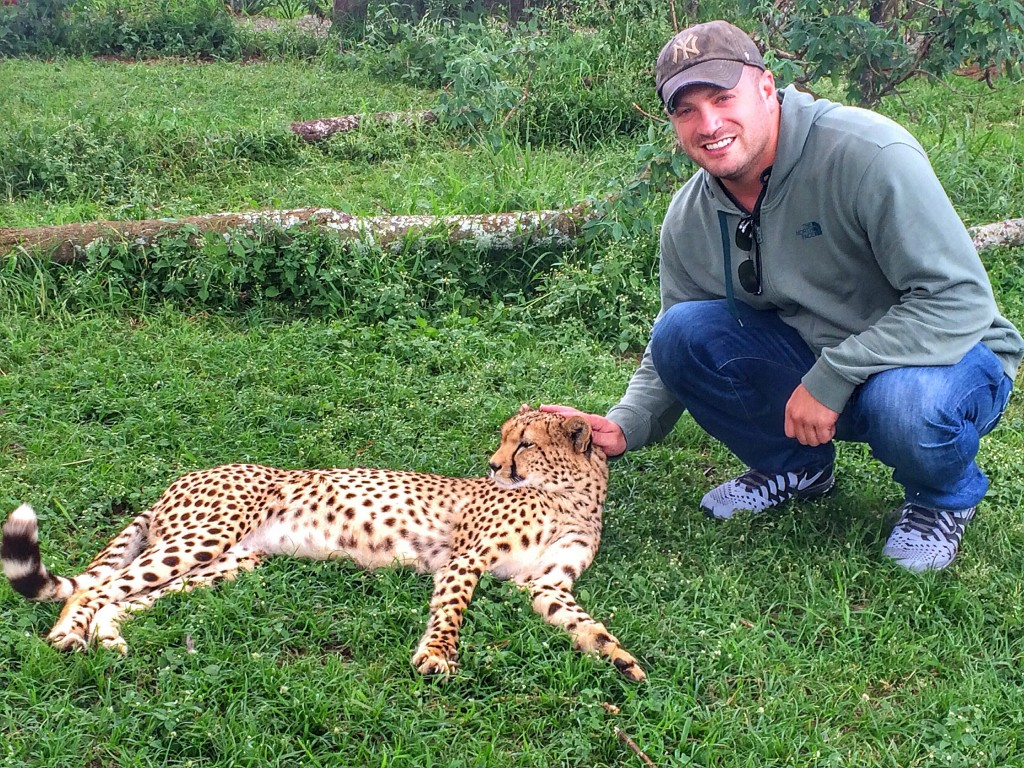 My Year in Travel 2016, orphanage, Fairmont Mount Kenya Safari Club, Kenya, cheetah, Lee Abbamonte