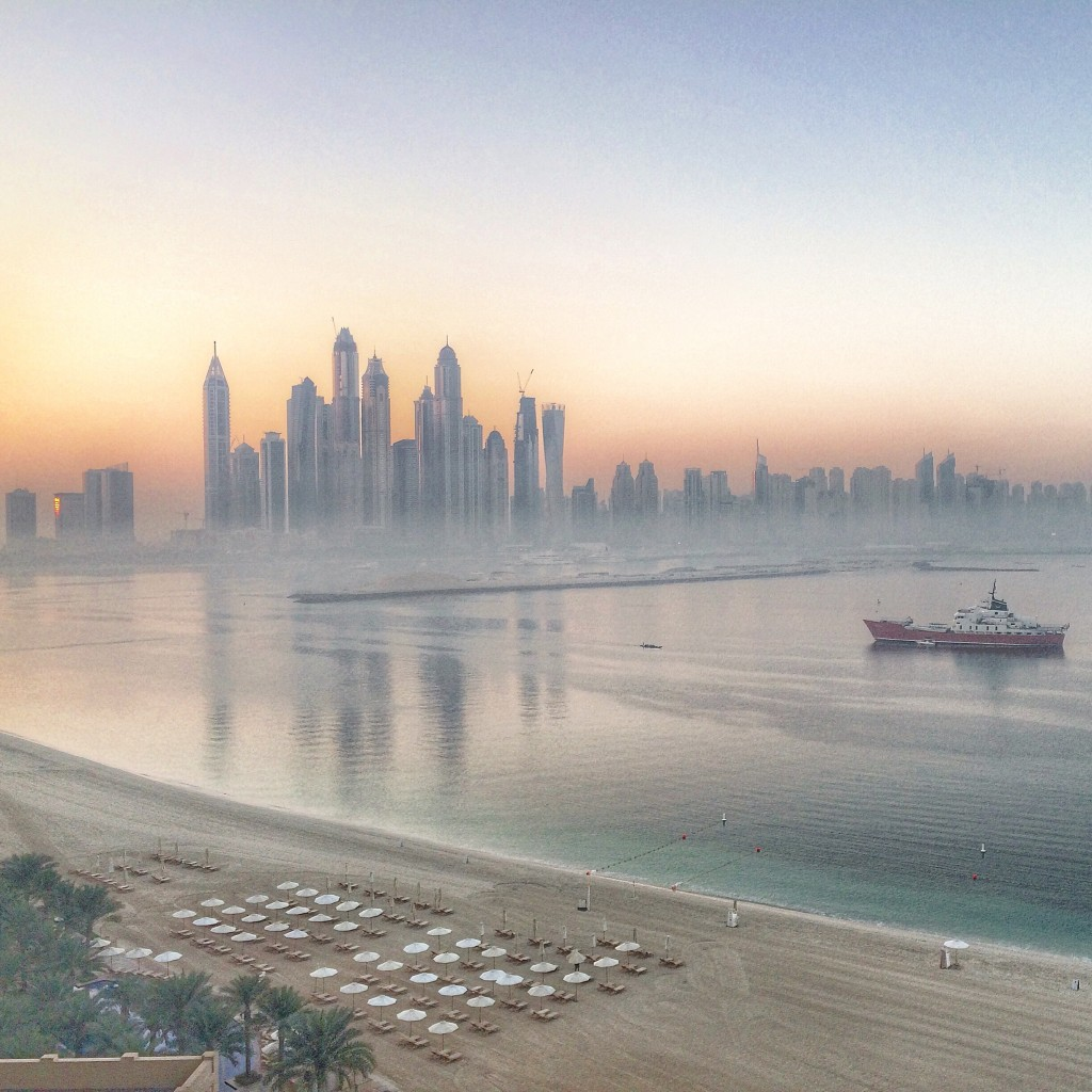 Staying on the Palm Islands of Dubai, Dubai, UAE, United Arab Emirates, Fairmont Hotels, Fairmont The Palm, Dubai marina