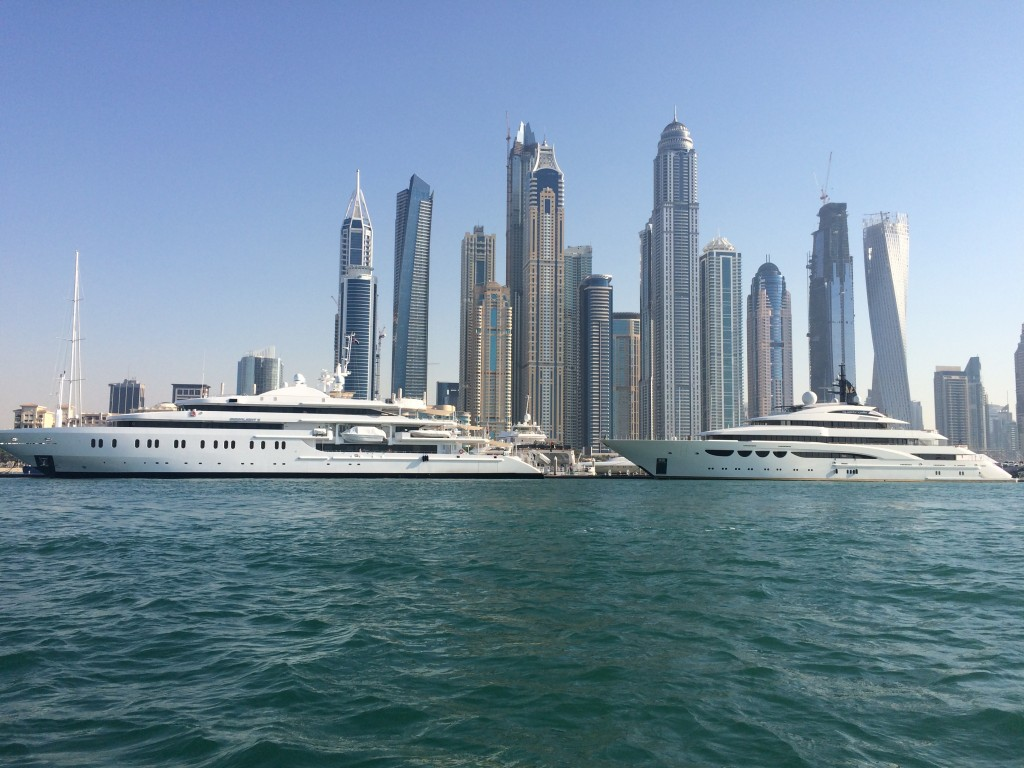 Staying on the Palm Islands of Dubai, Dubai, UAE, United Arab Emirates, Fairmont Hotels, Fairmont The Palm, boat tour