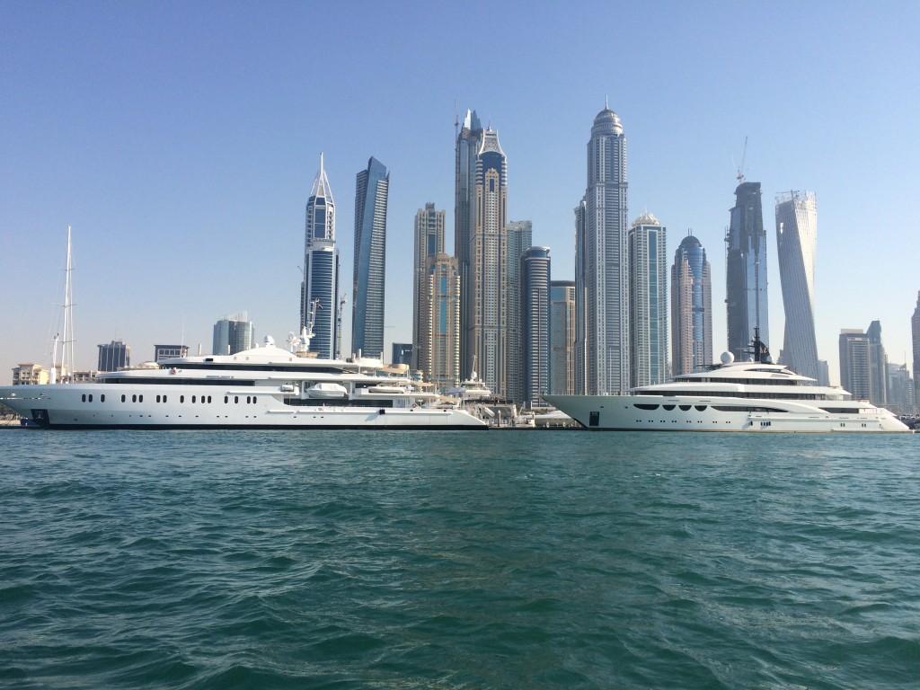 Staying on the Palm Islands of Dubai, Dubai, UAE, United Arab Emirates, Fairmont Hotels, Fairmont The Palm, boat tour
