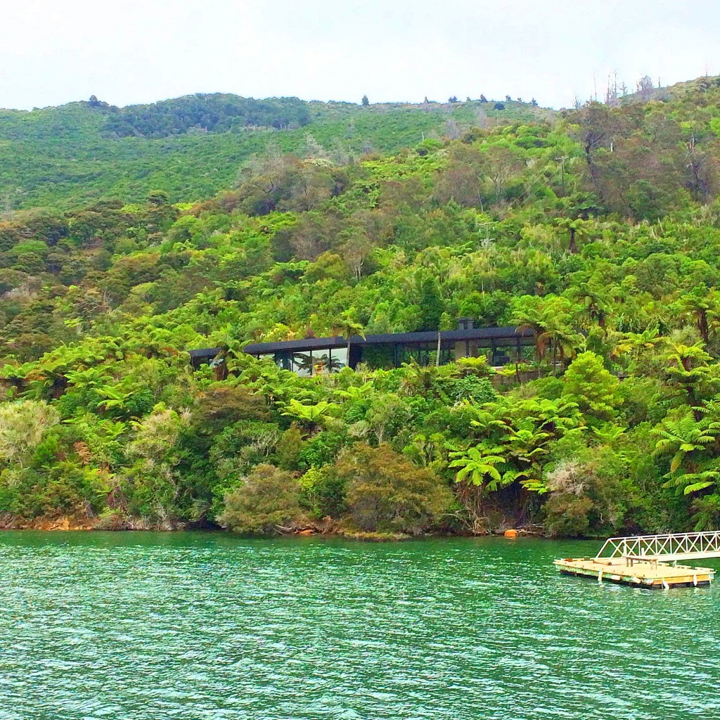 Picton, New Zealand, Queen Charlotte Sound, cruise, house