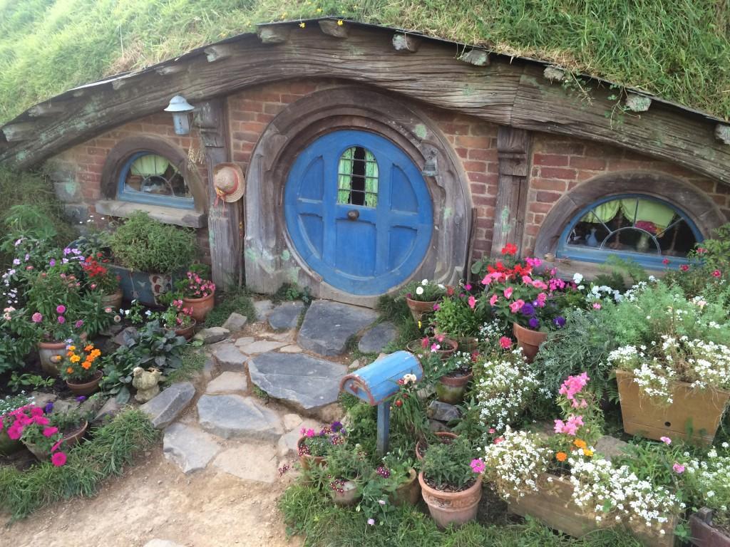 Hobbiton, New Zealand, Hobbiton Movie Set, Tauranga, Hobbiton is one of the Coolest Things in New Zealand, hobbit hole