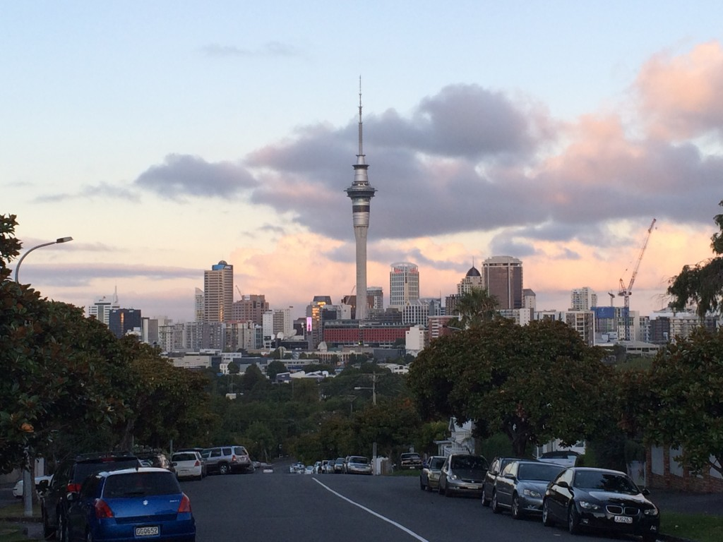 Auckland, New Zealand, Ponsonby, view