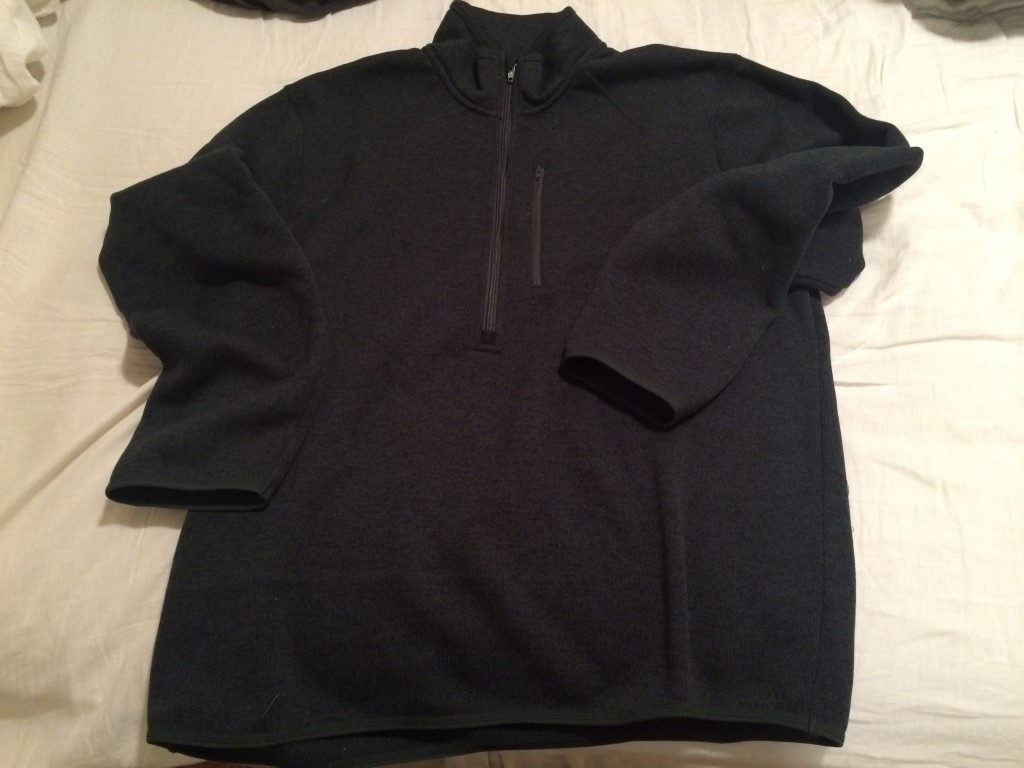 TravelSmith, Whats in my carry on, quarter zip sweater