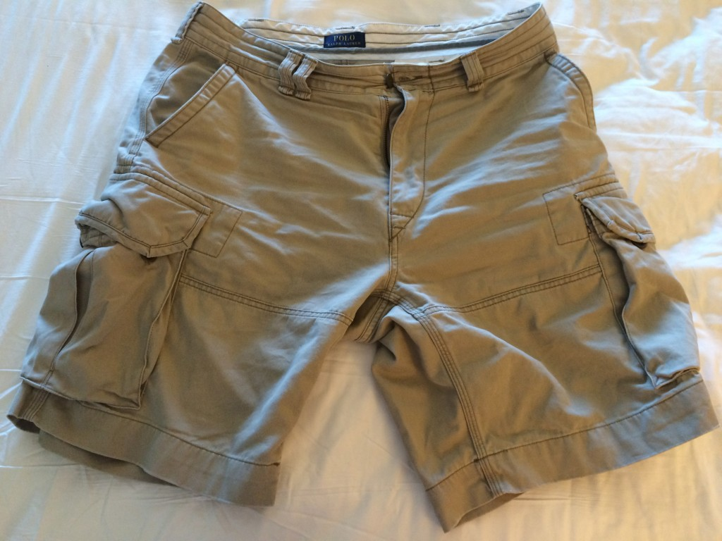TravelSmith, Whats in my carry on, cargo shorts, Ralph Lauren